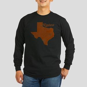 Winters, Texas (Search An Long Sleeve Dark T-Shirt