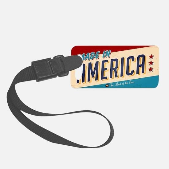 america Luggage Tag