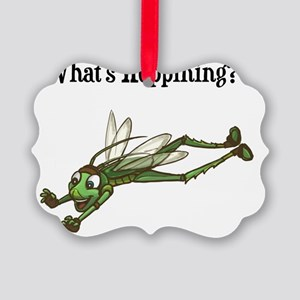 Whats Hoppining?! Picture Ornament