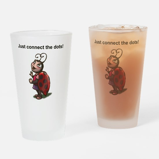 Connect Dots Drinking Glass