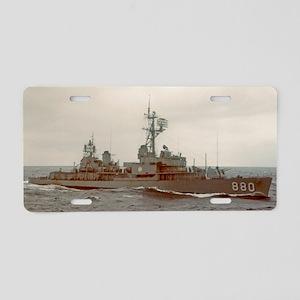 dyess ddr framed panel prin Aluminum License Plate