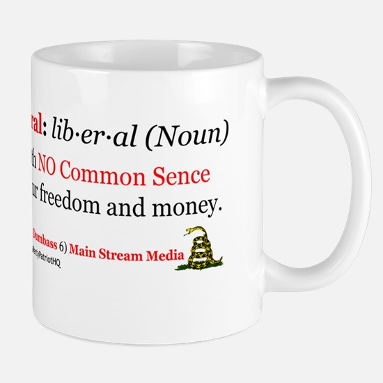 definition of a liberal Mug