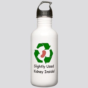 Slighty Used Kidney In Stainless Water Bottle 1.0L