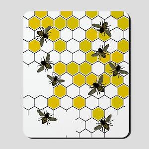 FF 3 bees Mousepad