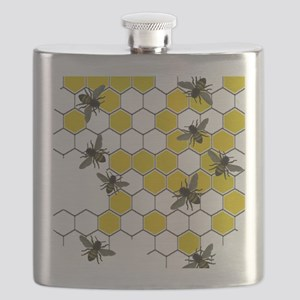 FF 3 bees Flask