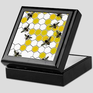 FF 3 bees Keepsake Box