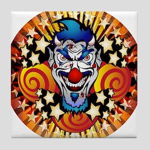 Halloween Carnival Tile Coaster