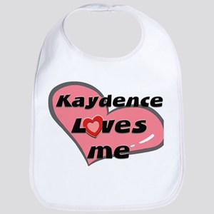 kaydence loves me  Bib