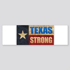 Texas Strong Bumper Sticker