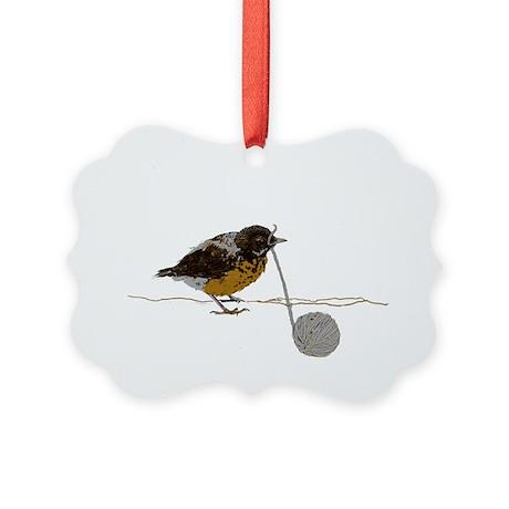 peeper Picture Ornament
