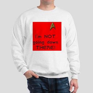 redshirt not going button Sweatshirt