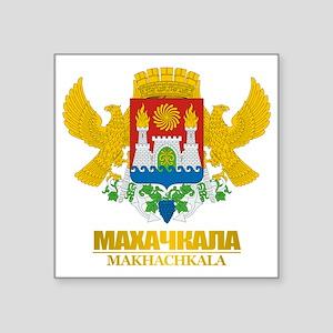 "Makhachkala COA Square Sticker 3"" x 3"""