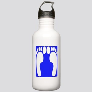 ff foot blue Stainless Water Bottle 1.0L