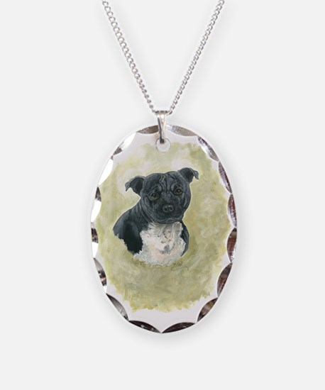 Stafforshire Bull Terrier Necklace