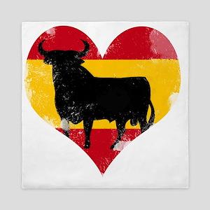The Spanish Bull, El Toro de España Queen Duvet