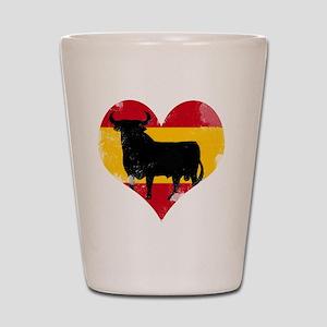 The Spanish Bull, El Toro de España Shot Glass