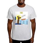 Wiener Dog Meets Hot Dog Light T-Shirt