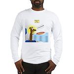 Wiener Dog Meets Hot Dog Long Sleeve T-Shirt