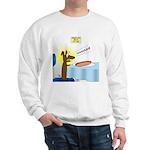 Wiener Dog Meets Hot Dog Sweatshirt