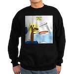 Wiener Dog Meets Hot Dog Sweatshirt (dark)