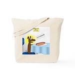 Wiener Dog Meets Hot Dog Tote Bag