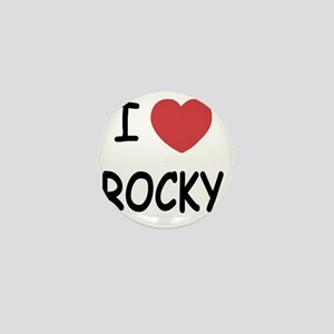 I heart Rocky Mini Button