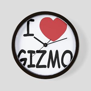 I heart Gizmo Wall Clock