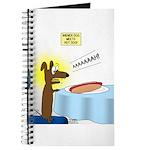 Wiener Dog Meets Hot Dog Journal