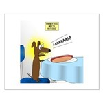 Wiener Dog Meets Hot Dog Small Poster