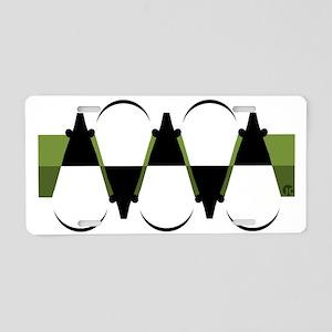 Tapirs Aluminum License Plate