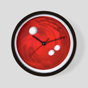 Bowling Ball Car Magnet Wall Clock