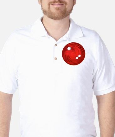 Bowling Ball Car Magnet Golf Shirt