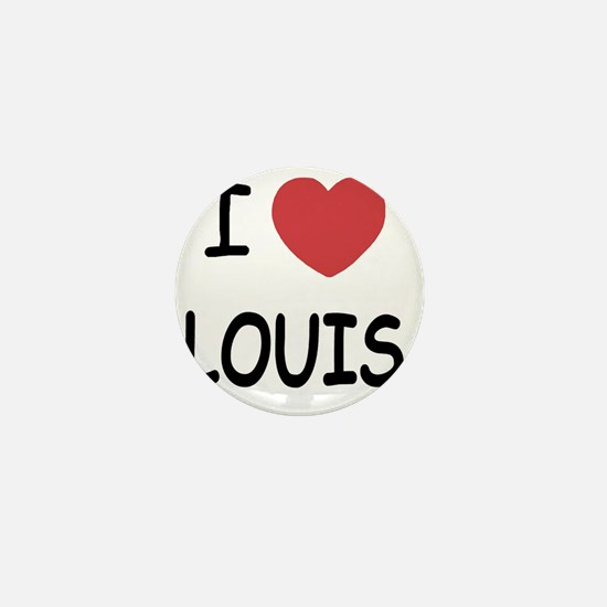I heart Louis Mini Button