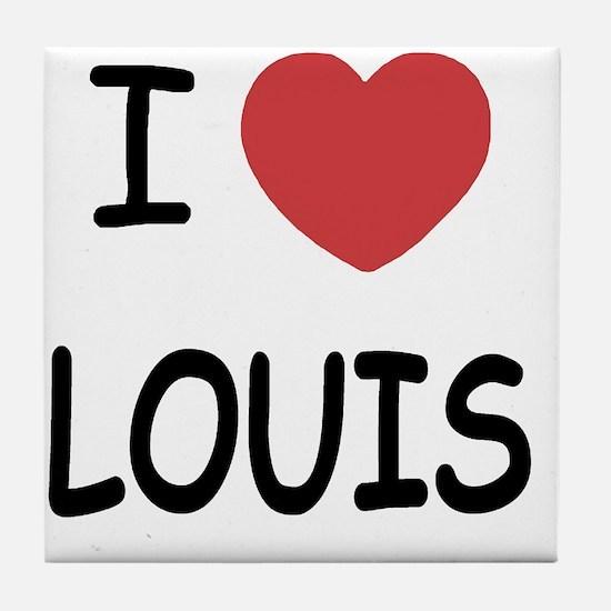 I heart Louis Tile Coaster