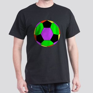 Soccer Ball Car Magnet Dark T-Shirt