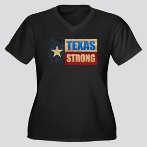 Texas Strong Plus Size T-Shirt