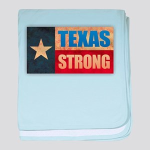 Texas Strong baby blanket