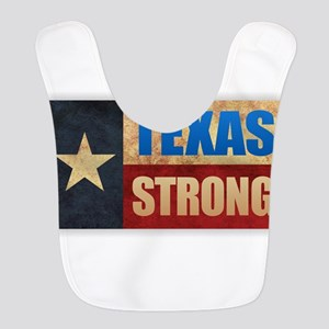 Texas Strong Polyester Baby Bib
