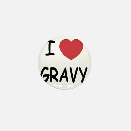 I heart Gravy Mini Button