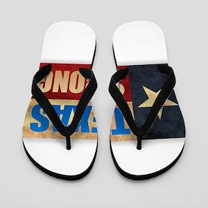 Texas Strong Flip Flops