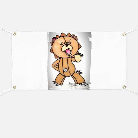Anime angry bear Banner