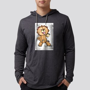 Anime angry bear Long Sleeve T-Shirt