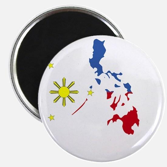 Pinoy Pride Map for dark garmets Magnet