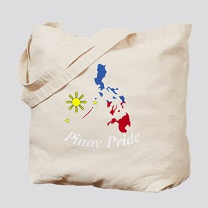 Pinoy Pride Map for dark garmets Tote Bag