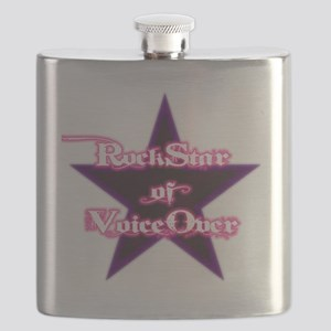 Dude-ettes Pynk-n-Whyte Collection Flask