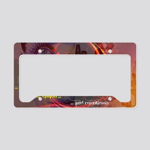 Own Your Vision License Plate Holder