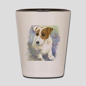 Jack Russell Terrier - Paula Cook Shot Glass