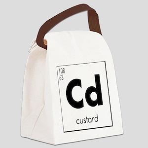 Element - Custard in Black Canvas Lunch Bag