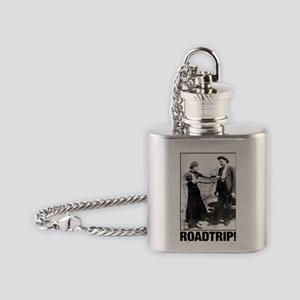 ROADTRIP! Flask Necklace