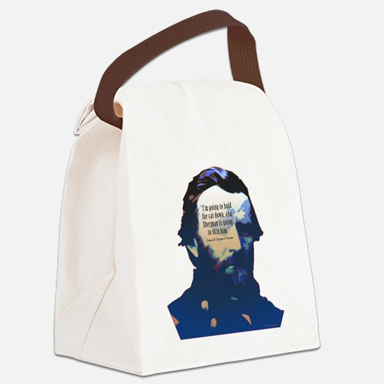General Grant Canvas Lunch Bag